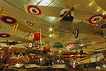 World War 1 aircraft, on display at the San Diego Aerospace Museum, San Diego, California