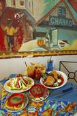 Fine Mexican food at El Charro restaurant, Tucson, Arizona