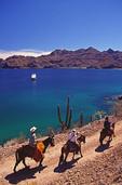 Riding at Bahia Agua Verde, Baja California Sur, Mexico
