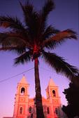Mission San Jose del Cabo Anuiti, with sunrise glow, San Jose del Cabo, Baja California Sur, Mexico