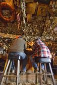 Bar patrons at the Salty Dawg Saloon, Homer, Alaska