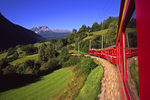 Riding the Swiss Rail system, Switzerland