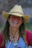 Christina Parker, a river guide in Grand Canyon National Park, Arizona