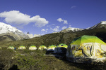 Eco Camp, below the Torres del Paine, Patagonia, Chile