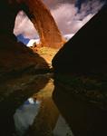Broken Bow Arch dominates Willow Gulch, Grand Staircase Escalante National Monument, Utah