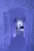 Medieval Suite at the Ice Hotel, Station Duchesnay, outside Quebec City, Canada