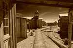 The recreated 'ghost town' of Castle Dome is also a living history museum in southwest Arizona