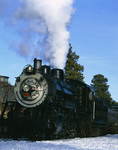 Engine No. 18 of the Grand Canyon Railroad, South Rim, Grand Canyon National Park, Arizona