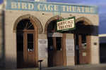 The Bird Cage Theatre faces another sunrise on Allen Street, Tombstone, Arizona