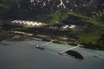 The terminus of the Trans Alaska Pipeline in Valdez, Alaska