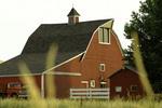 A red barn, Palouse, Eastern Washington