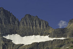 The shrinking Salamander Glacier, Glacier National Park, Montana