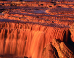 Grand Falls of the Little Colorado River, swollen by spring snowmelt, near Leupp, Arizona