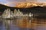 Tufa towers at sunrise, Mono Lake, California