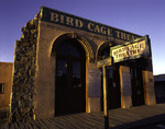 The infamous Birdcage Theatre in early morning light, Allen Street, Tombstone, Arizona