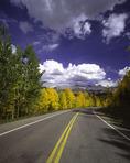Highway 550 from Durango to Silverton, Colorado