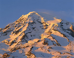 Mt. Rainier in late afternoon light, viewed from the south, Washington