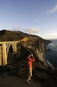 Bixby Creek Bridge, close to sunset  Big Sur, Monterey County, California