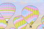 Flight of the Nations Mass Ascension, Albuquerque International Balloon Fiesta, Albuquerque, New Mexico