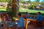 Dining at the Bernardus Restaurant, Bernardus Winery, Carmel Valley, Monterey County, California