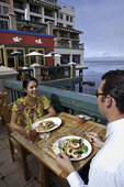 Schooner's Restaurant, Monterey Plaza Hotel, Monterey, California