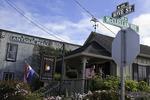 Wine tasting at Pierce Ranch Vineyards tasting room, Monterey, California