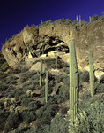 Early morning light on the Lower Ruin, Tonto National Monument, Arizona