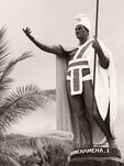 King Kamehameha 1 statue, Hawi, Big Island, Hawaii