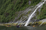 Kayaking in Walker Cove, Misty Fiords National Monument, Alaska