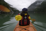 Kayaking in Scenery Cove, Thomas Bay, Inside Passage, Alaska