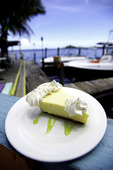 Key Lime pie at Snappers in Islamorada, Florida Keys, Florida