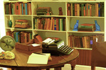 Ernest Hemingway's Royal typewriter, Hemingway House, Key West, Florida