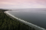 Agate Beach from Tow Hill, north of Masset, Graham Island, Haida Gwaii, British Columbia, Canada