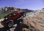 Driving the Slide on the Broken Arrow Trail, Sedona, Arizona