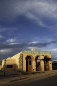 Sunrise comes to Allen Street and the Birdcage Theatre, Tombstone, Arizona