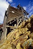 Ore loading chute, Washington Camp, Arizona