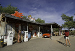 Photographing the General Store on old Route 66, Hackberry, Arizona