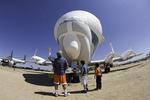 The Super Guppy, Pima Air & Space Museum, Tucson, Arizona