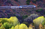 Verde Canyon Railroad in autumn, Verde Valley, Arizona