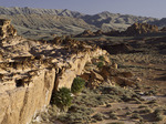 The eroded sandstone shapes of Devil's Fire, Nevada