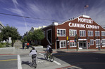 Biking near Cannery Row, Monterey, California