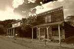 The Pioneer Store on Main Street, Chloride, New Mexico