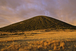 Capulin Volcano National Monument at sunrise, New Mexico