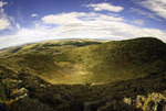 Crater view at Capulin Volcano National Monument, New Mexico