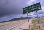 Highway 375, the 'Extraterrestrial Highway', northeast of Las Vegas, Nevada