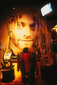 Kurt Cobain tribute at the Hard Rock Hotel, Las Vegas, Nevada