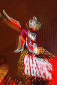 Vegas Vicky reigns over Glitter Gulch, Fremont Street, Las Vegas, Nevada