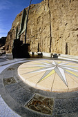 Celestial map and Winged Figures of the Republic, Hoover Dam, Nevada