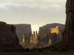 Yei Be Chi at sunrise, Monument Valley Tribal Park, Arizona