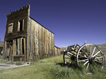 Summer afternoon in Bodie State Historic Park, California